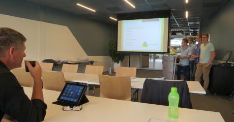 Advies zonnepanelenveld Centrum Duurzaam door studenten