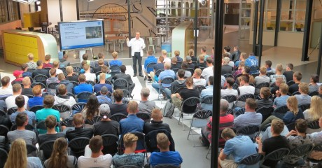 Praktijkgerichte introductiedag eerstejaars bouwstudenten ROC Friese Poort