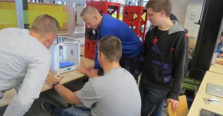 3D printen voor bouwstudenten ROC Friese Poort Sneek