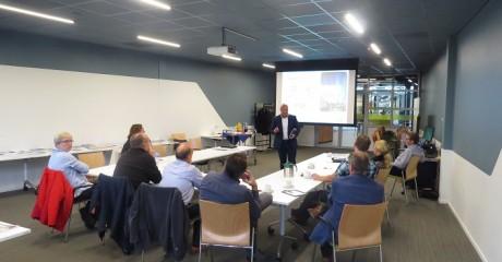Bedrijven in gesprek met UNETO-VNI en OTIB bij Centrum Duurzaam