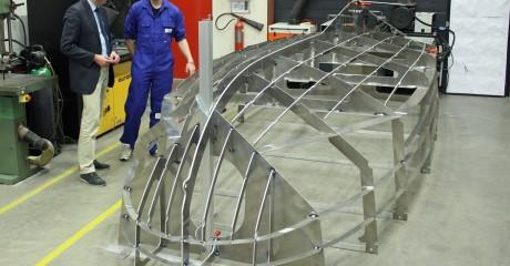 ROC Friese Poort Sneek bouwt elektrisch aangedreven boot Mien Skip