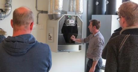 Praktijkles ventilatie in Duurzaam Doen Huis door Zehnder