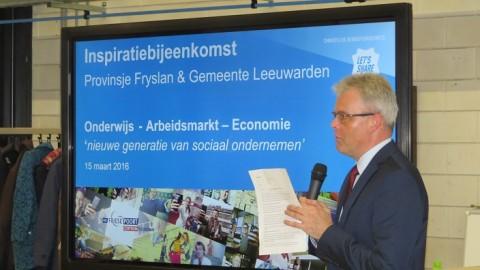 Inspiratiebijeenkomst gemeente Leeuwarden en Provinsje Fryslan bij Centrum Duurzaam