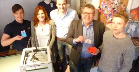 3D idee Ondernemend Dokkum geprint door Outlet Dokkum