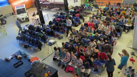 Kinderen basisscholen Leeuwarden maken kennis met techniek