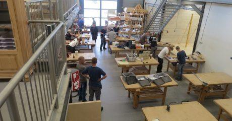 Duurzaam herstellen van kozijnen vak specialisme voor studenten ROC Friese Poort