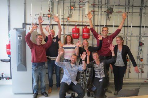 Workshop duurzaamheid in Duurzaam Doen Huis voor VAPRO studenten
