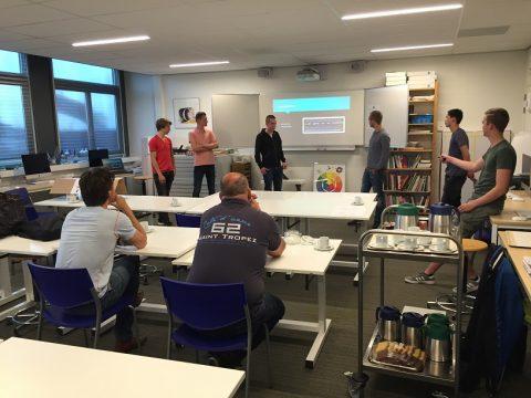Levensecht project en bedrijfsbezoek voor bouwstudenten ROC Friese Poort Leeuwarden