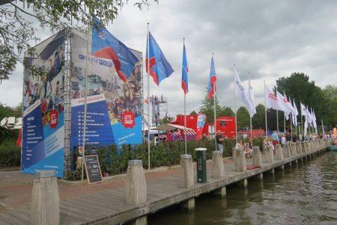 Maritiem ROC Friese Poort op Admiraliteitsdagen Dokkum