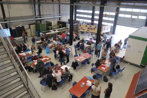 Nieuwe bouwtoppers ROC Friese Poort starten met duurzaamheid