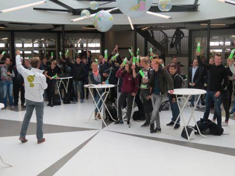300 studenten ROC Friese Poort actief op Dag van de Duurzaamheid 2016