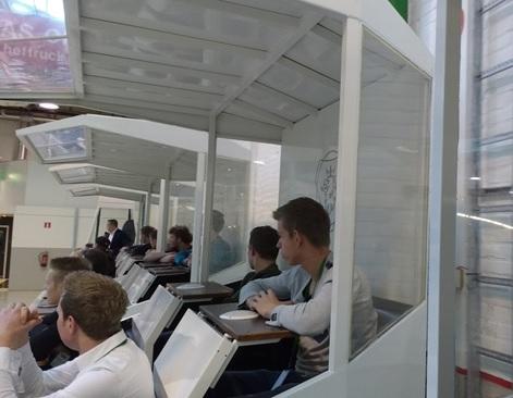 Praktijk dag lean manufacturing voor techniekstudenten ROC Friese Poort bij Scania