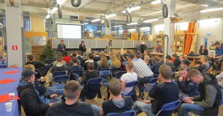 Gastles duurzaam ondernemen voor bouwstudenten ROC Friese Poort Sneek