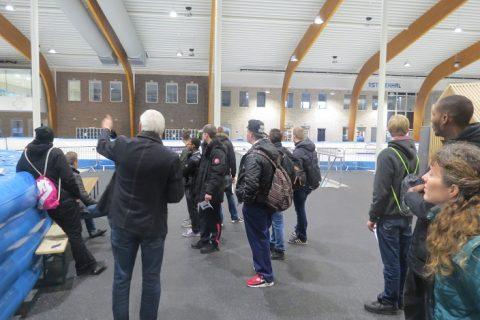Studenten ROC Friese Poort ontdekken eigen duurzaamheid bij Elfstedenhal