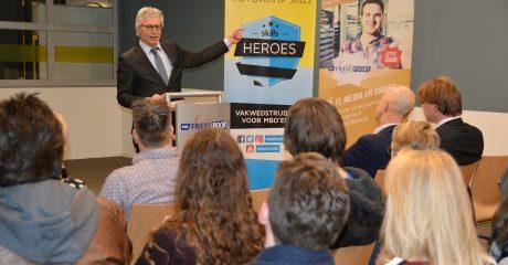 Drie ICT studenten ROC Friese Poort naar landelijke finale Skills Heroes