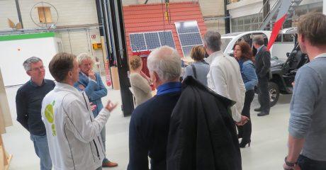 Samenwerkingsorganisatie Beroepsonderwijs Bedrijfsleven op bezoek bij Centrum Duurzaam