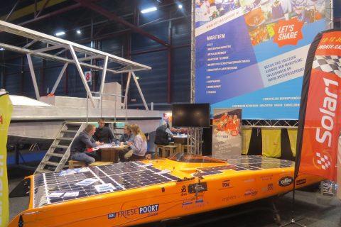Zonnepont Harlingen op Boot Holland 2017