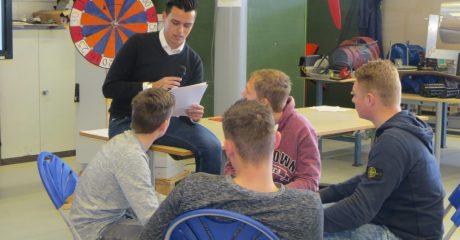 Leerlingen AMS volgen duurzame route op ROC Friese Poort