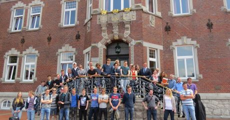 Studenten ROC Friese Poort werken in Witmund aan Waddenagenda