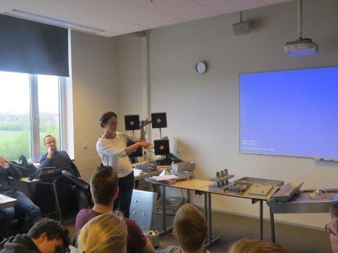 LED factory verrast door vernieuwende LED ideeën van studenten ROC Friese Poort