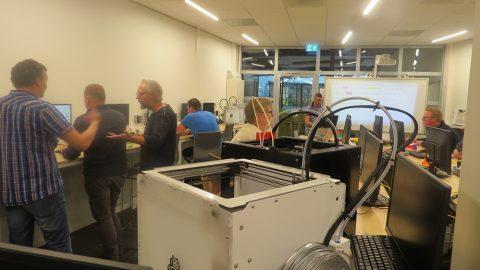 3D workshop inspireert M-Tech scholen Friesland