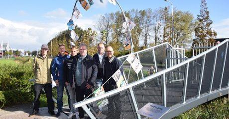 Techniek studenten ROC Friese Poort maken met Smederij Easterhei voetgangersbrug