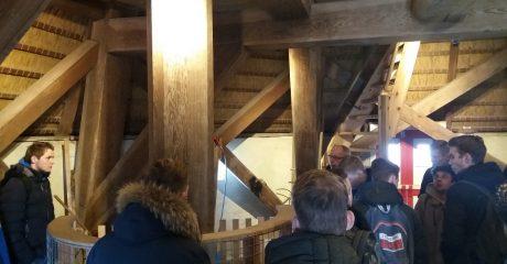 Bedrijfsexcursie studenten MKE naar windmolenpark en metaalbedrijf
