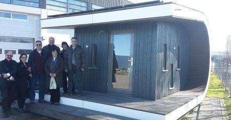 Griekse onderwijspartner op bezoek bij Centrum Duurzaam