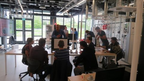 Workshop lage temperatuurverwarming voor servicemonteurs duurzame installatietechniek