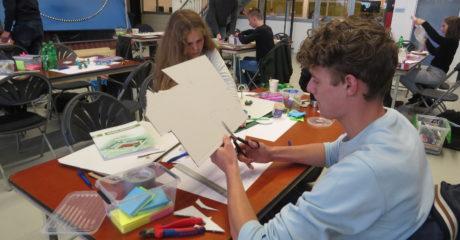 Duitse en Nederlandse studenten ontwerpen meditatieruimte voor Nijkleaster