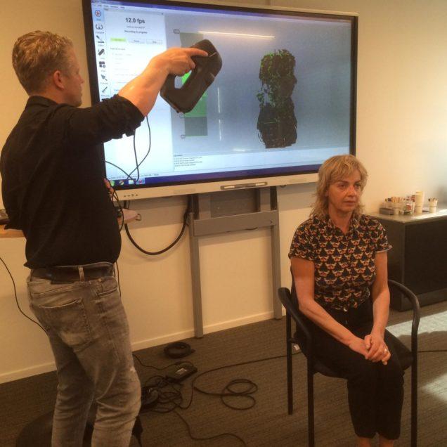 Studenten Mediavormgeving werken mee aan kunstproject met 3D-printers