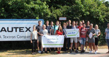 Jobbus Tour Leer Duitsland voor MKE studenten