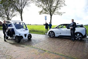 Frisian Eco Car symboliseert nieuwe invalshoek bereikbaarheid