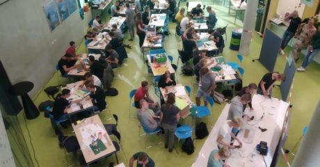 Studenten ROC Friese Poort ontwerpen duurzame observatiepost voor Staatsbosbeheer