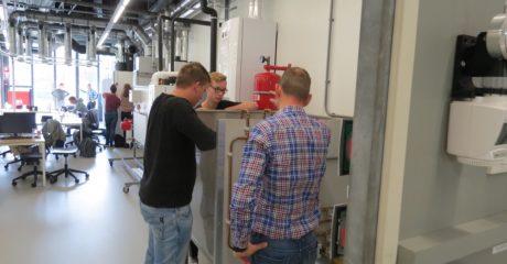 Studenten VEVA Zorg zetten eerste duurzame stappen in de gebouwde omgeving