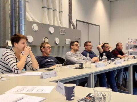 ROC Friese Poort op bezoek bij Zehnder voor les over balansventilatiesysteem