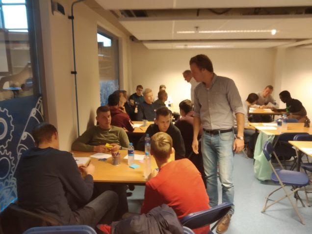 Technische studenten ROC Friese Poort bedenken duurzaam zeevervoer