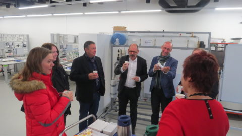 Foreign partners pay a visit to Sustainability Centre