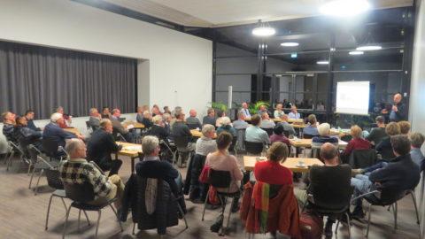 Bewoners doen kennis op tijdens sessie Werkgroep Energietransitie Havankpark