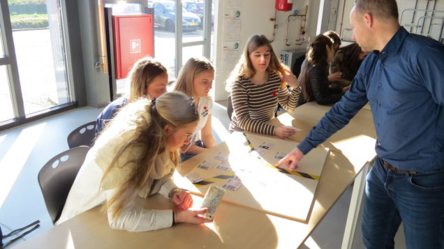 Studenten Office Support Sneek volgen workshops bij Centrum Duurzaam