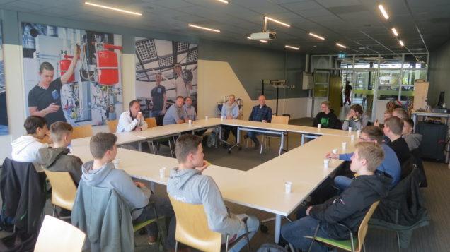 Duitse studenten ervaren werkwijze Centrum Duurzaam