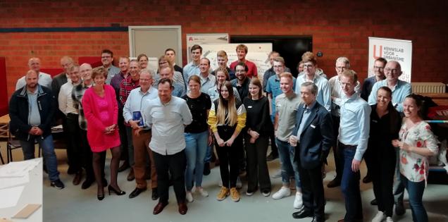 ROC Friese Poort-studenten Elektro aanwezig bij hackathon Hoogeveen
