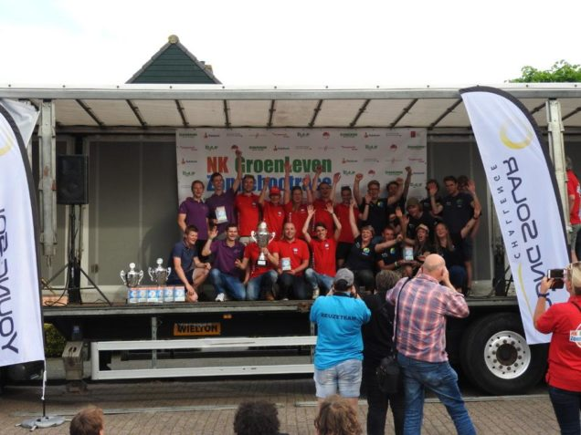 Sinnergy solar team Drachten derde op NK Zonnebootrace Akkrum