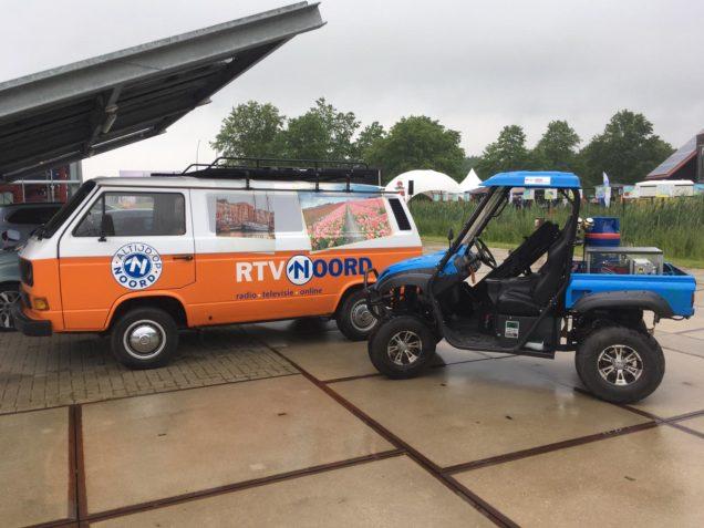 Waterstofauto ROC Friese Poort aanwezig op TransFuture-festival Groningen
