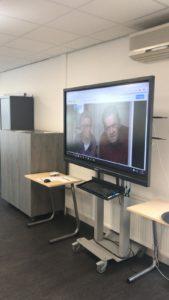 Studenten Elektro leveren domotica-maquette op tijdens Thús innovatieweken 2