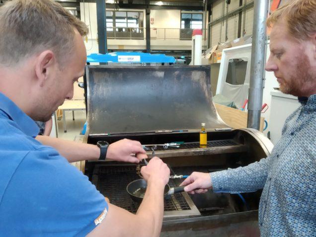 Interne cursus over waterstof voor docenten ROC Friese Poort