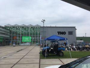 Waterstofauto ROC Friese Poort aanwezig op TransFuture-festival Groningen 2