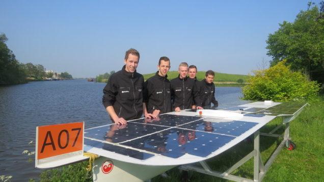 NK Zonnebootrace Akkrum leerzaam voor Solarteam Skipper