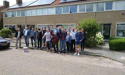 Ruud Koornstra en studenten ROC Friese Poort bezoeken vernieuwend duurzaamheidsproject in Joure