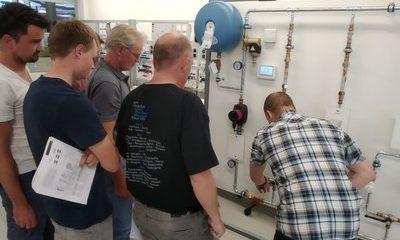 Installatiemonteurs Van Seggeren bijgespijkerd over waterzijdig inregelen